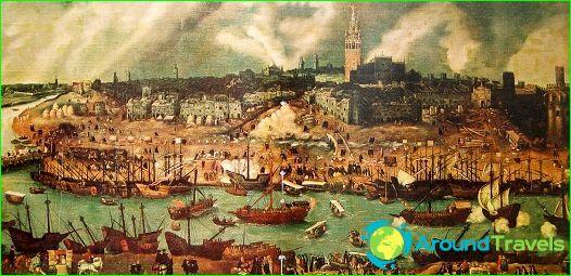 منظر لإشبيلية في القرن السادس عشر