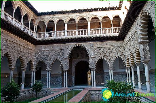إشبيلية القصر الملكي الكازار