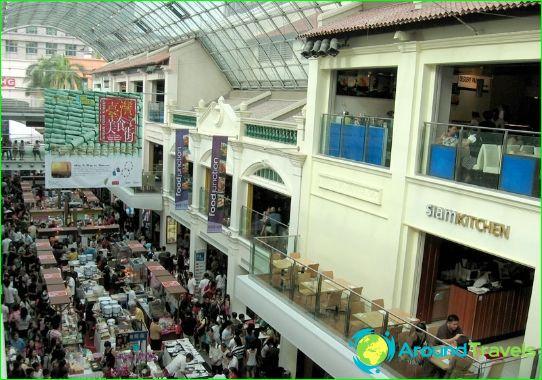Winkels en winkelcentra in Singapore