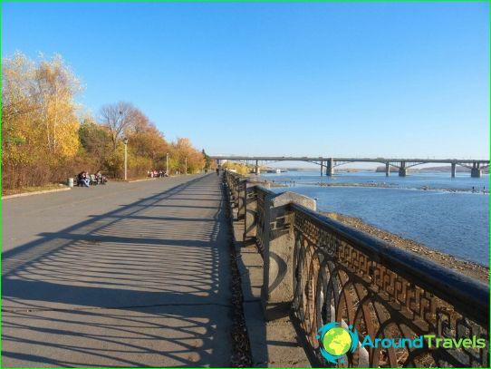 Mitä tehdä Novosibirskissä?