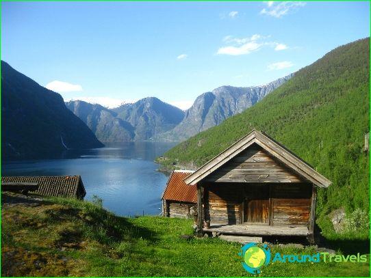 Lomat Norjassa elokuussa