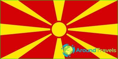 Makedonian lippu