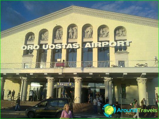 Lentokenttä Vilnassa