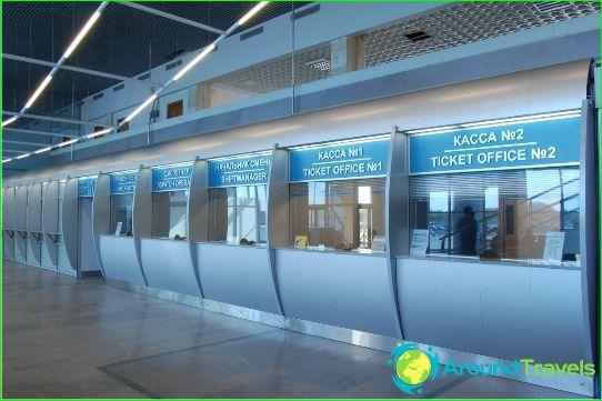 Luchthaven in Orenburg