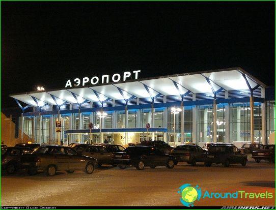 Lentokenttä Tomsk