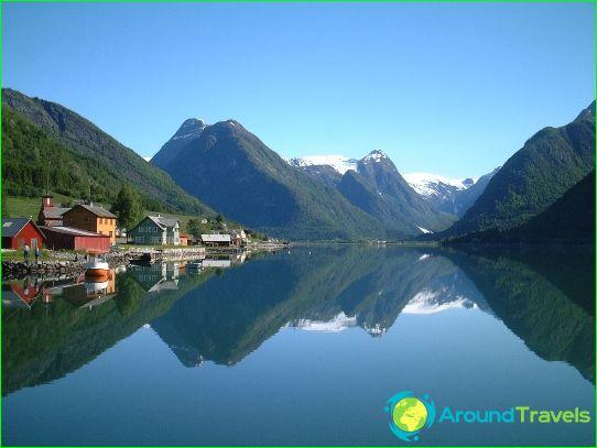 Vakantie in Noorwegen in september