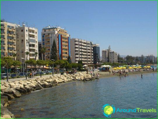 Stranden in Limassol