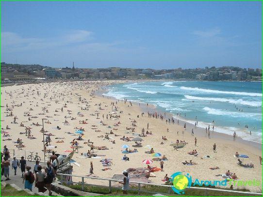 Stranden in Sydney