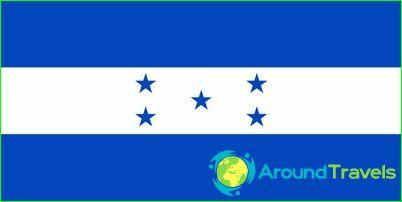 Знаме на Хондурас
