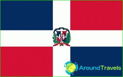 Знаме на Доминиканската република