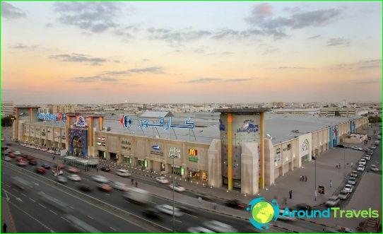 Sharjahin ostoskeskukset ja markkinat