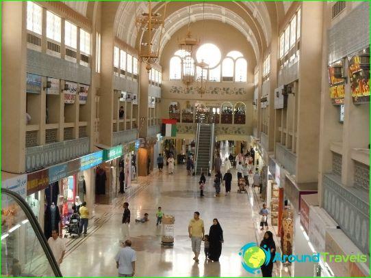 Winkelcentra en markten van Sharjah