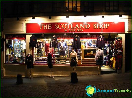 Магазини и молове в Единбург