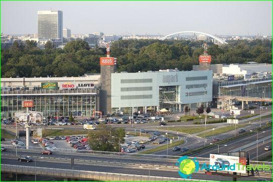Bratislavan ostoskeskukset ja markkinat