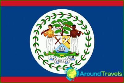 Знаме на Белиз