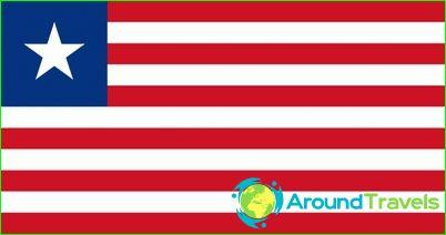 Знаме на Либерия