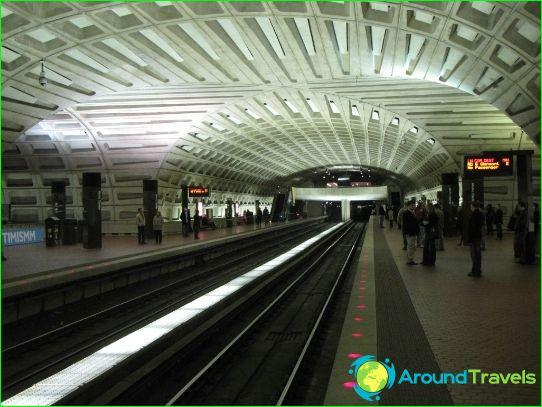 Metro Atlanta: schema, foto, beschrijving