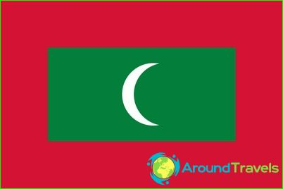 Vlag van de Maldiven
