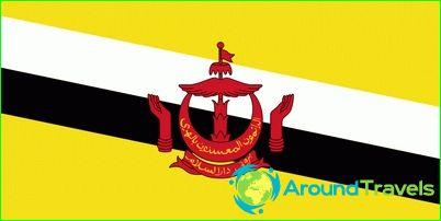 Vlag van Brunei
