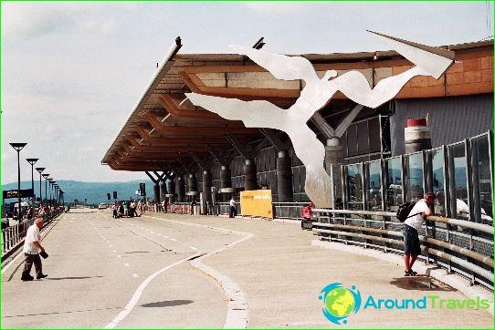 Lentokenttä Oslossa