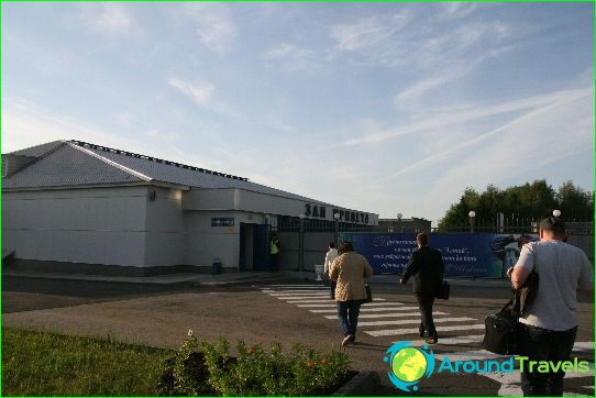 Lentokenttä Barnaul