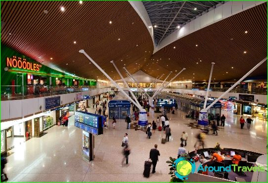 Luchthaven in Kuala Lumpur