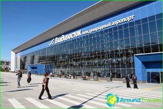Luchthaven in Vladivostok