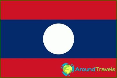 Laosin lippu