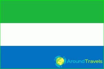 Sierra Leonen lippu