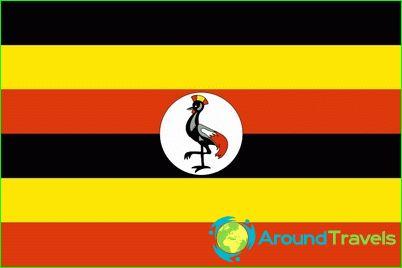 Ugandan lippu