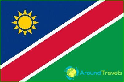 Namibian lippu