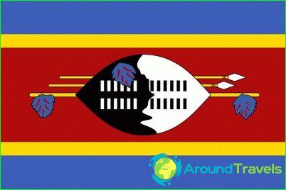 Vlag van swaziland