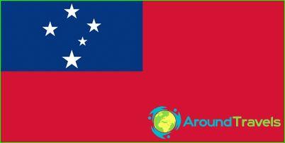 Vlag van Samoa