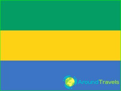 Знаме на Габон
