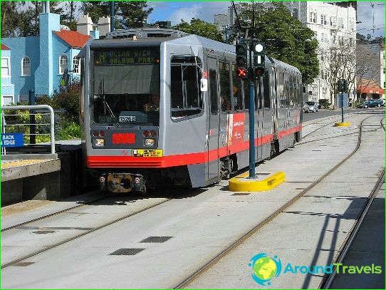 Метро Сан Франциско: схема, снимка, описание