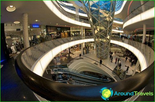Winkels en boetieks van Frankfurt