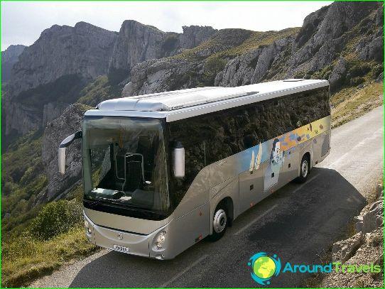 Circuits en bus en Italie