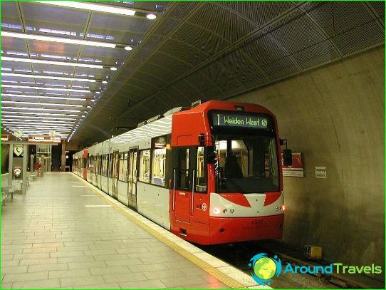 Metro Keulen: diagram, foto, beschrijving