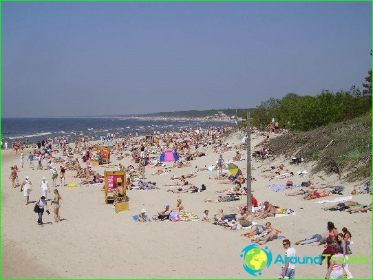 Плажове в Паланга