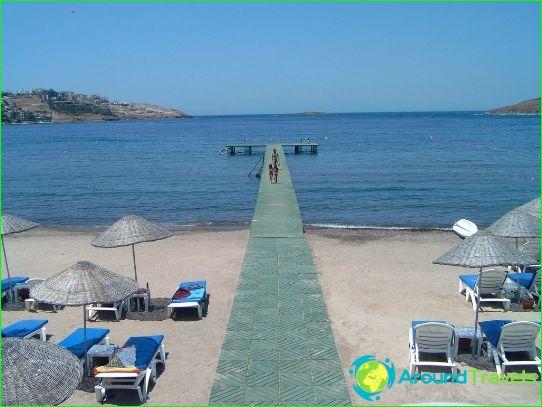 Stranden in Bodrum