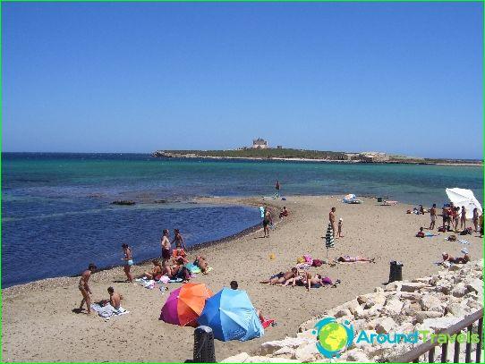 شواطئ في كاتانيا
