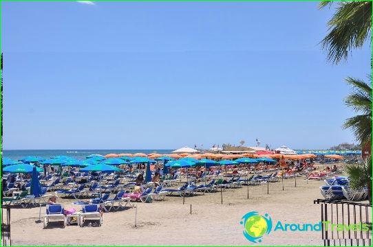 Stranden in Larnaca