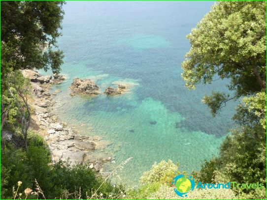 Stranden in Toscane