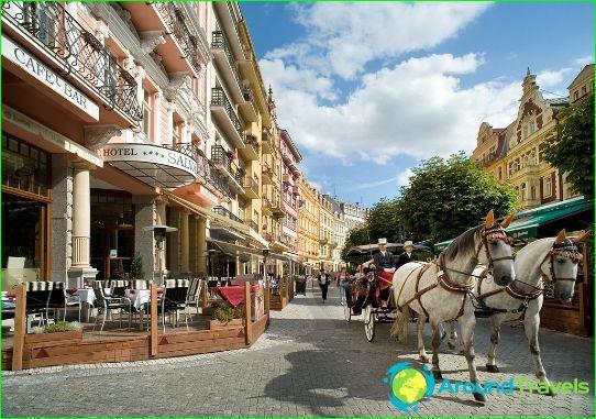 Mitä tehdä Karlovy Varyssa?