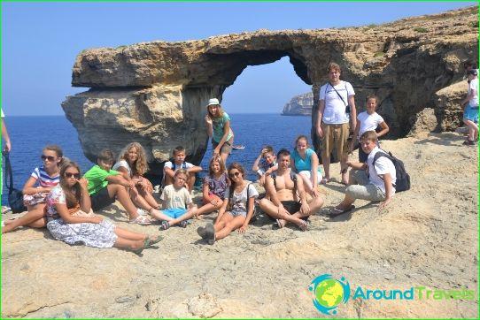 Детски лагери в Малта