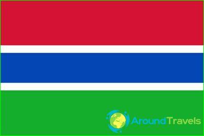 Vlag van Gambia