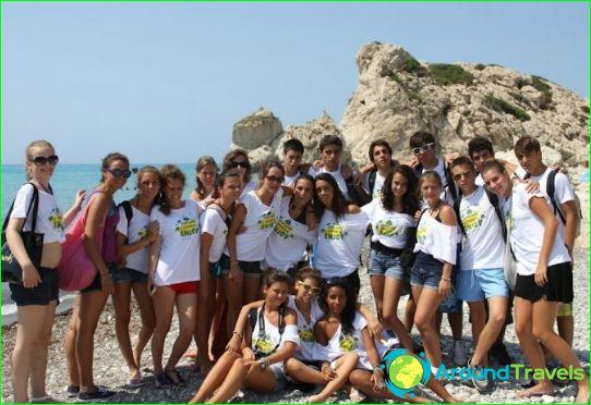 Barnläger på Cypern