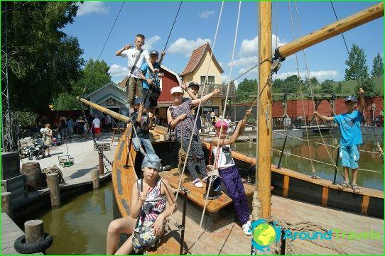 Детски лагери в Швеция