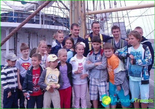 Lasten leirit Latviassa