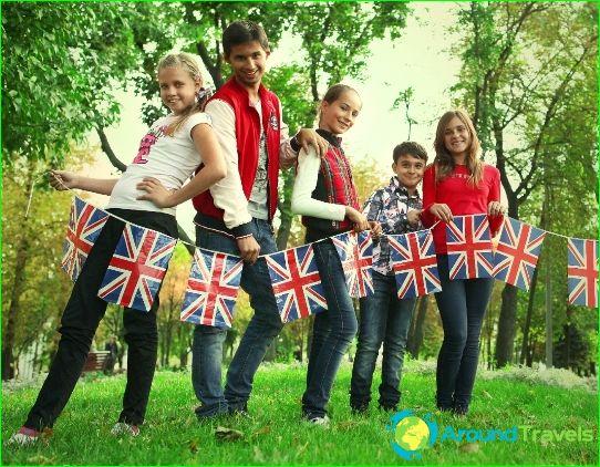 Lasten leirit Iso-Britanniassa